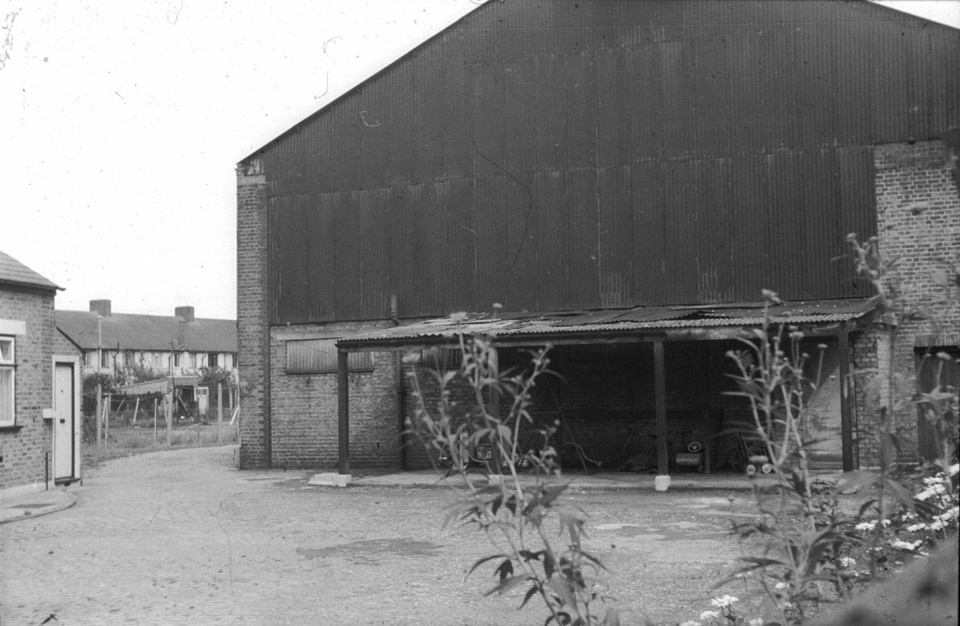 Site of former SMET tram depot in Aurelia Road, c1960