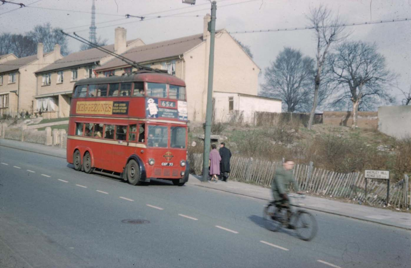 Anerley Hill, Penge in 1959