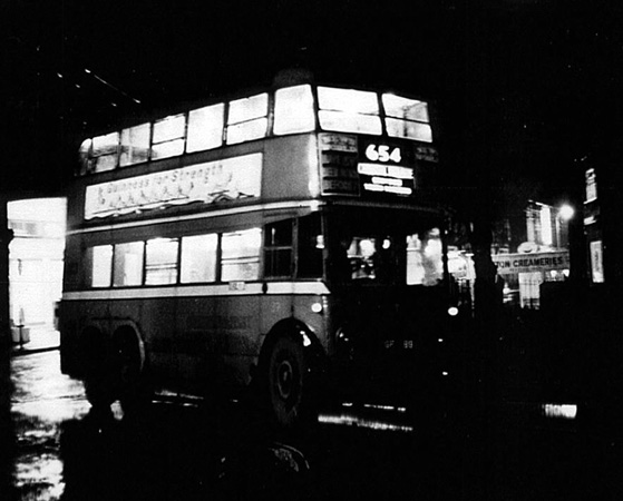 Last Trolleybus at Sutton Green