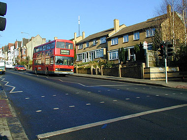 Anerley Hill, Penge in 2000