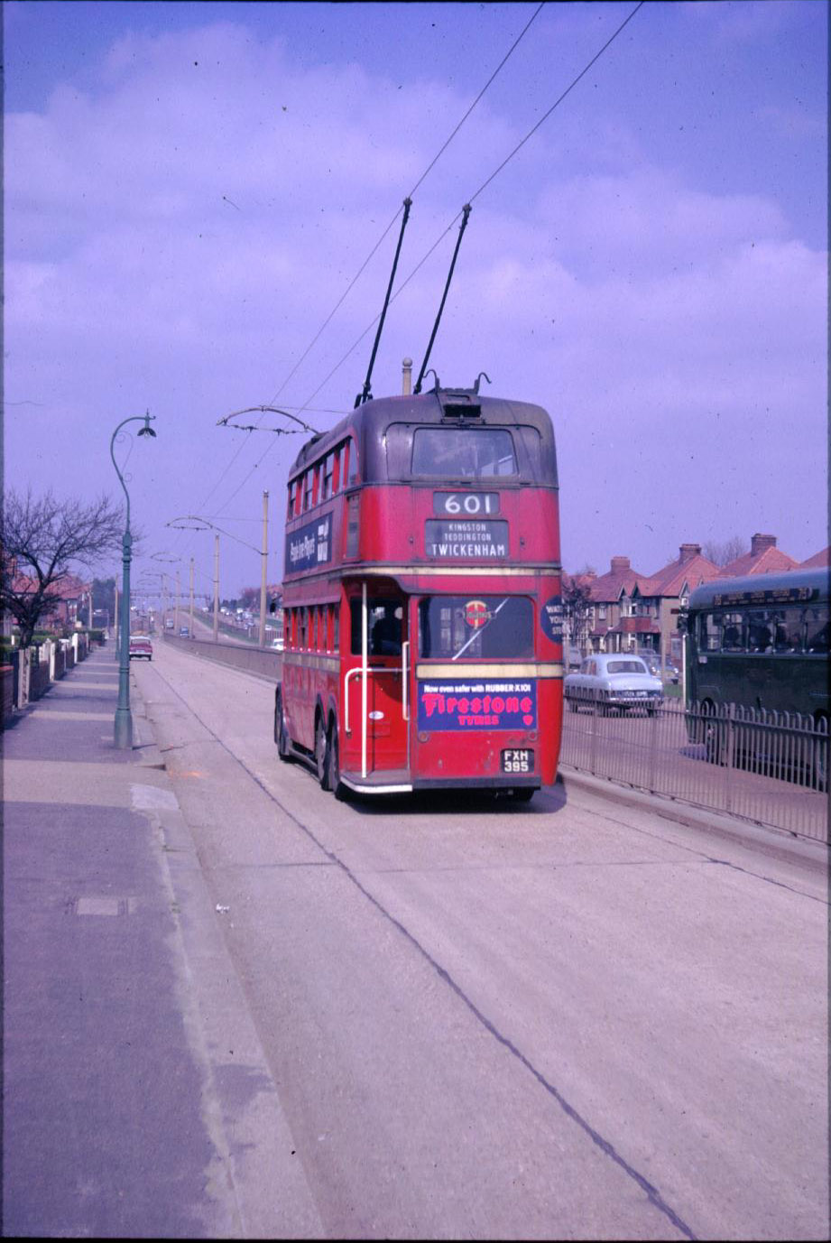 Adjacent to the Kingston By-Pass - 1962
