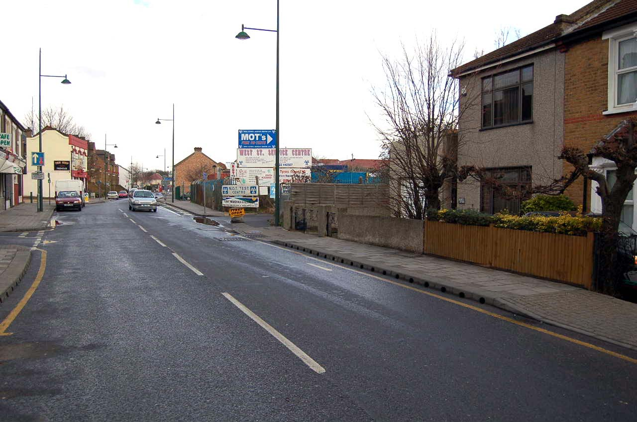 West Street, Erith, 2006
