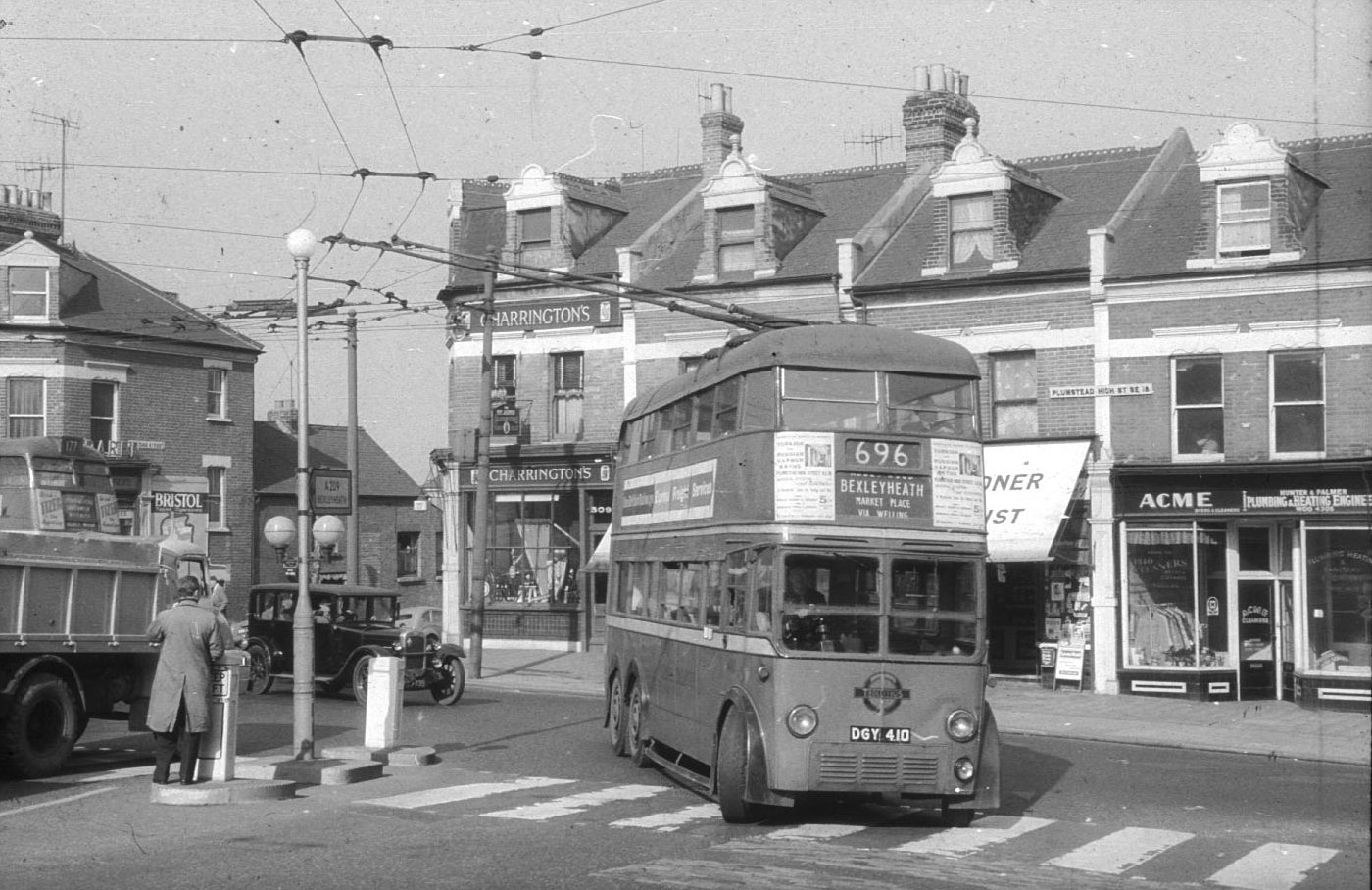 Plumstead High Street / Wickham Lane junction