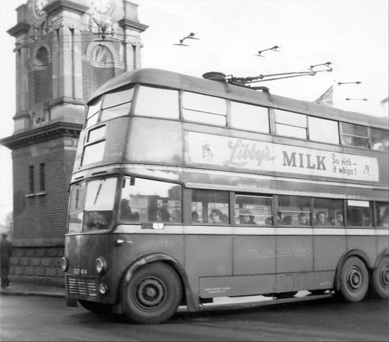 Bexleyheath town centre on 3 March 1959