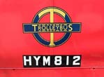 The famous London Trolleybus symbol