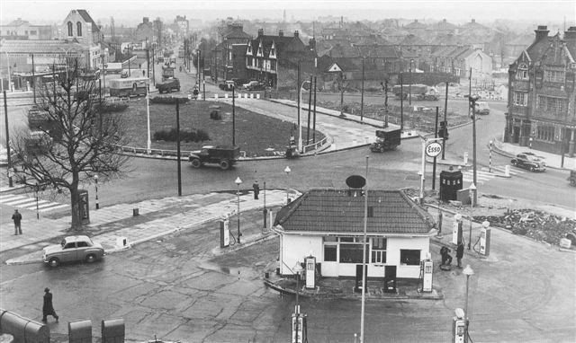 Chiswick Flyover Site - 1957